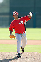 Aguido Gonzalez, Cincinnati Reds 2010 minor league spring training..Photo by:  Bill Mitchell/Four Seam Images.