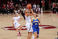 Stanford, CA - November 17, 2017:  Stanford Women's Basketball wins over UC Riverside 53-43 at Maples Pavilion.