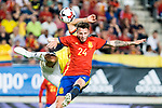 Saul Iniguez of Spain during the friendly match between Spain and Colombia at Nueva Condomina Stadium in Murcia, jun 07, 2017. Spain. (ALTERPHOTOS/Rodrigo Jimenez)