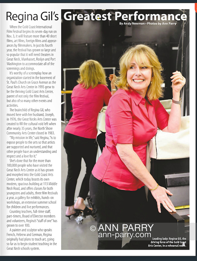 Great Neck Magazine 2014, photography by Ann Parry, published by Anton Media Group