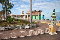Cuba, Trinidad.  Plaza Mayor.