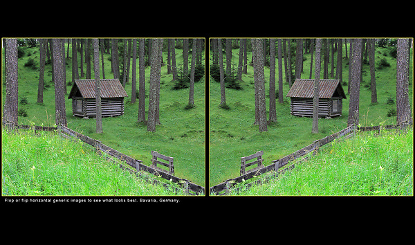 Germany, Bavaria.  Flop Your Image.<br />