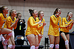 November 22, 2019; Rapid City, SD, USA; at the 2019 South Dakota State Volleyball Championships at the Rushmore Plaza Civic Center in Rapid City, S.D. (Richard Carlson/Inertia)