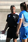 12 July 2009: Boston head coach Tony DiCicco. Sky Blue FC defeated the Boston Breakers 2-1 at Harvard Stadium in Cambridge, Massachusetts in a regular season Women's Professional Soccer game.