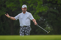 Rory Sabbatini (RSA) reacts to barely missing his birdie putt on 10 during day 3 of the Valero Texas Open, at the TPC San Antonio Oaks Course, San Antonio, Texas, USA. 4/6/2019.<br /> Picture: Golffile | Ken Murray<br /> <br /> <br /> All photo usage must carry mandatory copyright credit (© Golffile | Ken Murray)