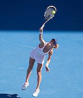 AGNIESZKA RADWANSKA (POL)<br /> <br /> Tennis - Australian Open - Grand Slam -  Melbourne Park -  2014 -  Melbourne - Australia  - 23rd January 2013. <br /> <br /> &copy; AMN IMAGES, 1A.12B Victoria Road, Bellevue Hill, NSW 2023, Australia<br /> Tel - +61 433 754 488<br /> <br /> mike@tennisphotonet.com<br /> www.amnimages.com<br /> <br /> International Tennis Photo Agency - AMN Images