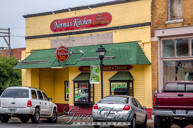 Norma's Kitchen on Route 66 in Webb City Missouri.