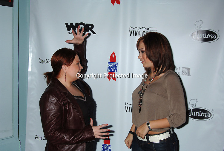 Kathy Brier and Diana DeGarmo..at The 20th Annual Broadway Cares/Equity Fights Aids Broadway Flea Market, Celebrity Autograph Table and Grand Auction on September 24, 2006 at Shubert Alley...Robin Platzer, Twin Images