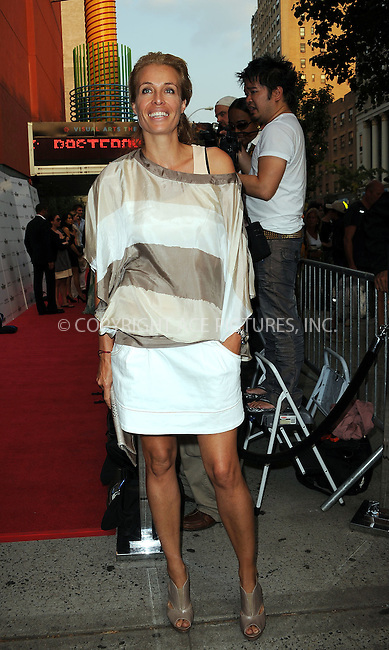 WWW.ACEPIXS.COM . . . . . ....August 17 2009, New York City....Frederique Van Der Wall arriving at The Cinema Society & Hugo Boss screening of 'Inglourious Basterds' at the SVA Theater on August 17, 2009 in New York City.....Please byline: KRISTIN CALLAHAN - ACEPIXS.COM.. . . . . . ..Ace Pictures, Inc:  ..tel: (212) 243 8787 or (646) 769 0430..e-mail: info@acepixs.com..web: http://www.acepixs.com