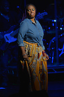 FORT LAUDERDALE, FL - OCTOBER 27: Lalah Hathaway performs onstage at Broward Center for the Performing Arts With Special Guests Anthony Hamilton And Eric Benet on October 27, 2016 in Fort Lauderdale, Florida. Credit: MPI10 / MediaPunch