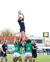 2nd February 2020; Energia Park, Dublin, Leinster, Ireland; International Womens Rugby, Six Nations, Ireland versus Scotland; Sarah Bonar (Scotland) gathers the lineout ball