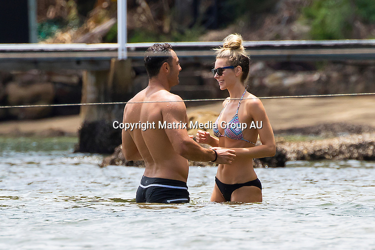 18 JANUARY 2016 MELBOURNE AUSTRALIA<br /> <br /> EXCLUSIVE PICTURES<br /> <br /> Jennifer Hawkins pictured with her husband Jake Wall enjoying an afternoon of Stand Up Paddle boarding at Pittwater.<br /> <br /> *All web use must be approved*.<br /> <br /> MUST CALL PRIOR TO USE <br /> <br /> +61 2 9211-1088<br /> <br /> Note: All editorial images subject to the following: For editorial use only. Additional clearance required for commercial, wireless, internet or promotional use.Images may not be altered or modified. Matrix Media Group makes no representations or warranties regarding names, trademarks or logos appearing in the images.
