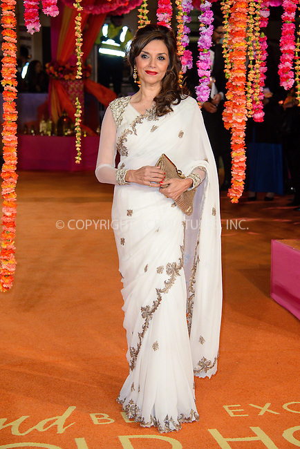 WWW.ACEPIXS.COM<br /> <br /> February 17 2015, London<br /> <br /> Lillete Dubey attending The Royal Film Performance and World Premiere of 'The Second Best Exotic Marigold Hotel' at Odeon Leicester Square on February 17, 2015 in London<br /> <br /> By Line: Famous/ACE Pictures<br /> <br /> <br /> ACE Pictures, Inc.<br /> tel: 646 769 0430<br /> Email: info@acepixs.com<br /> www.acepixs.com