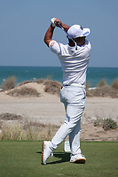 Hideto Tanihara (JPN) during the final round of the Oman Open, Al Mouj Golf, Muscat, Sultanate of Oman. 03/03/2019<br /> Picture: Golffile | Phil Inglis<br /> <br /> <br /> All photo usage must carry mandatory copyright credit (&copy; Golffile | Phil Inglis)