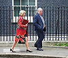 Cabinet meeting arrivals <br /> 10 Downing Street London Great Britain <br /> 25th October 2016 <br /> <br /> Andrea Leadsome MP and Patrick McLoughlin MP <br /> <br /> <br /> Photograph by Elliott Franks <br /> Image licensed to Elliott Franks Photography Services