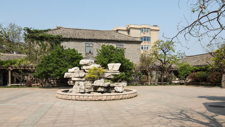 The Rear Of The Yantai (Chefoo) Custom House.