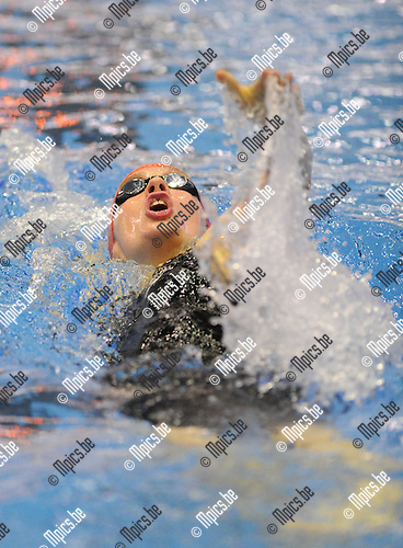 2012-01-22 / Zwemmen / seizoen 2011-2012 / Diamond race Antwerpen / Kimberly Buys..Foto: Mpics.be