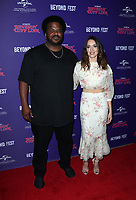 HOLLYWOOD, CA - OCTOBER 8 : Craig Robinson, Aubrey Plaza, at 2018 Beyond Fest - Premiere Of &quot;An Evening With Beverly Luff Linn&quot; at the Egyptian Theatre in Hollywood California on October 8, 2018. <br /> CAP/MPI/FS<br /> &copy;FS/MPI/Capital Pictures