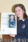 Emer Jones winner of the Young Scientist   Copyright Kerry's Eye 2008