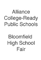 ALLIANCE Bloomfield High School Fair
