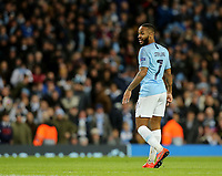 Manchester City's Raheem Sterling<br /> <br /> Photographer Rich Linley/CameraSport<br /> <br /> UEFA Champions League Round of 16 Second Leg - Manchester City v FC Schalke 04 - Tuesday 12th March 2019 - The Etihad - Manchester<br />  <br /> World Copyright &copy; 2018 CameraSport. All rights reserved. 43 Linden Ave. Countesthorpe. Leicester. England. LE8 5PG - Tel: +44 (0) 116 277 4147 - admin@camerasport.com - www.camerasport.com