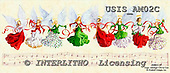Ingrid, HOLY FAMILIES, HEILIGE FAMILIE, SAGRADA FAMÍLIA, paintings+++++,USISAM02C,#XR# angels ,vintage