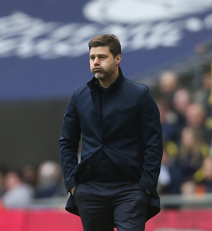 Tottenham Hotspur manager Mauricio Pochettino <br /> <br /> Photographer Rob Newell/CameraSport<br /> <br /> The Premier League - Tottenham Hotspur v Arsenal - Saturday 2nd March 2019 - Wembley Stadium - London<br /> <br /> World Copyright © 2019 CameraSport. All rights reserved. 43 Linden Ave. Countesthorpe. Leicester. England. LE8 5PG - Tel: +44 (0) 116 277 4147 - admin@camerasport.com - www.camerasport.com