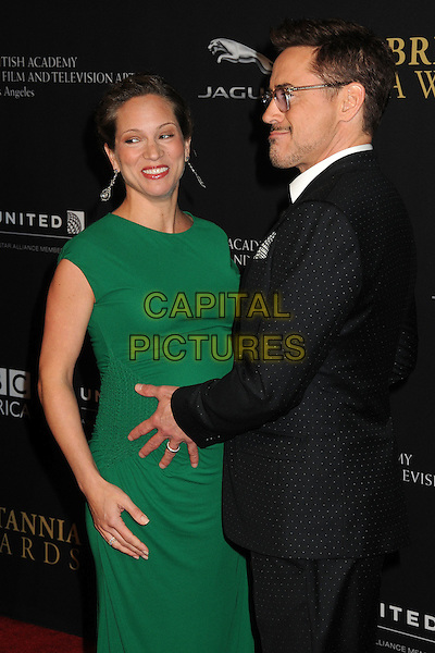 30 October 2014 - Beverly Hills, California - Susan Downey, Robert Downey Jr.. BAFTA Britannia Awards 2014 held at the Beverly Hilton Hotel.  <br /> CAP/ADM/BP<br /> &copy;Byron Purvis/AdMedia/Capital Pictures