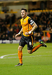 Danny Batth celebrates opening the scoring for Wolves - Football - Sky Bet Championship - Wolverhampton Wanderers vs Fulham - Season 2014/15 - 24th February 2015 - Photo Malcolm Couzens/Sportimage