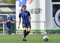 Brugge's Febe Vanhaecke pictured during a female soccer game between Club Brugge Dames YLA and Racing Genk Ladies on the second matchday of the 2020 - 2021 season of Belgian Scooore Women s SuperLeague , saturday 5 th of September 2020  in Brugge , Belgium . PHOTO SPORTPIX.BE   SPP   DAVID CATRY