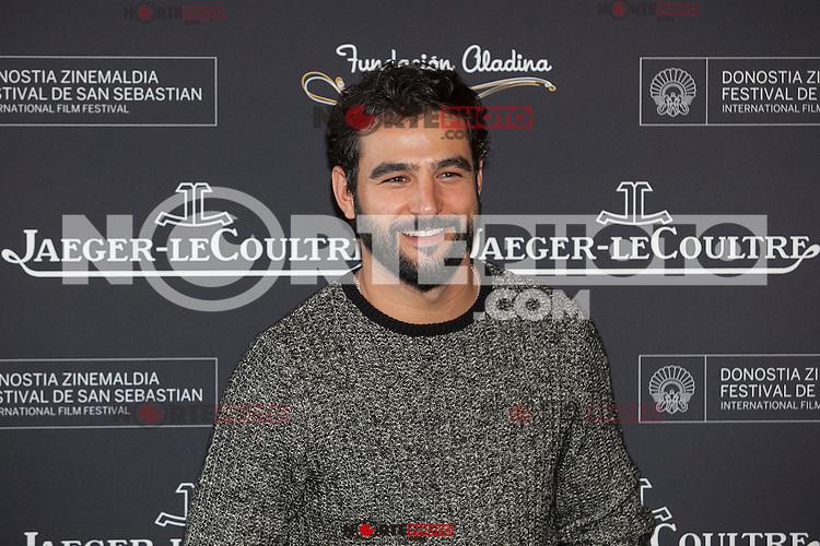 Actor Antonio Velazquez poses during Aladina Foundation presentation at 63rd Donostia Zinemaldia (San Sebastian International Film Festival) in San Sebastian, Spain. September 18, 2015. (ALTERPHOTOS/Victor Blanco) /NortePhoto.com