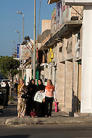 Tripoli, Libya - Street Scene, Women Shopping, Gargaresh District