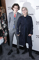 NEW YORK, NY - JANUARY 9: Timothee Chalamet  and Meryl Streep at The National Board of Review Annual Awards Gala at Cipriani 42nd Street on January 9, 2017 in New York City. <br /> CAP/MPI99<br /> &copy;MPI99/Capital Pictures