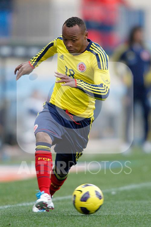 Colombia's national team Camilo Zuniga during international friendly. March 26, 2011. (ALTERPHOTOS/Alvaro Hernandez)