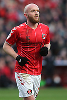 Jonny Williams of Charlton Athletic and Wales during Charlton Athletic vs Barnsley, Sky Bet EFL Championship Football at The Valley on 1st February 2020