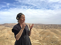 13. &quot;Settler&quot;: an impassioned woman tells us about Nofei Prat, a settlement in the Benjamin Regional Council, West Bank.<br />