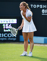 17-06-13, Netherlands, Rosmalen,  Autotron, Tennis, Topshelf Open 2013, Dominika Cibulkova is frustrated<br /> Photo: Henk Koster