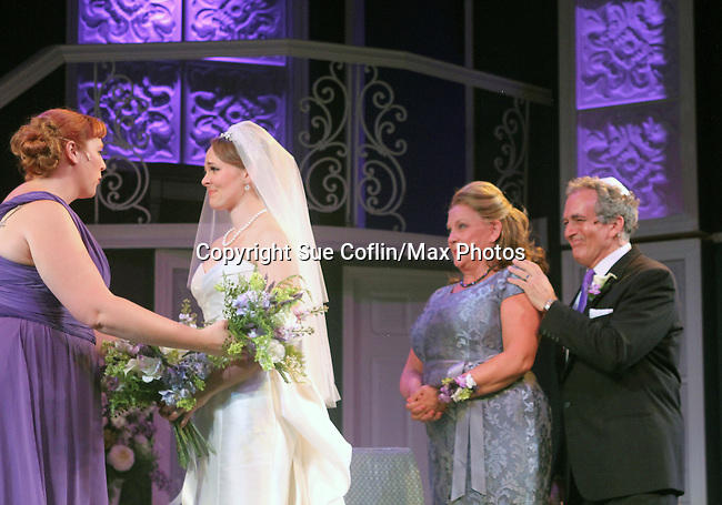 "Guiding Light's Kim Zimmer stars with Molly Tower, Kayleen Seidl and Joel Briel in ""It Shoulda Been You"" - a new musical comedy - at the Gretna Theatre, Mt. Gretna, PA on July 30, 2016. (Photo by Sue Coflin/Max Photos)"