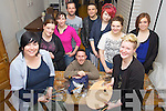 Rebekah Wall, Niamh Cosman, Deirdre McKenna, Philip Doyle, Paul Woods, Norman Fitzgerald, Norma Harrington, Sarah Commane, Charlotte Lee and Lisa Manton pictured at the Babytag Artist 24 hour lock-in at their studios on Thursday..