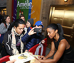 Renee Elise Goldsberry attends the Broadway Opening Night performance of 'Amelie' at the Walter Kerr Theatre on April 3, 2017 in New York City
