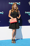 WESTWOOD, CA- SEPTEMBER 07: Actress Kerri Medders arrives at the Los Angeles premiere of 'Dolphin Tale 2' at Regency Village Theatre on September 7, 2014 in Westwood, California.