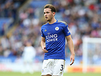 Leicester City's Ben Chilwell <br /> <br /> <br /> <br /> Photographer Stephen White/CameraSport<br /> <br /> The Premier League - Leicester City v Wolverhampton Wanderers - Sunday 11th August 2019 - King Power Stadium - Leicester<br /> <br /> World Copyright © 2019 CameraSport. All rights reserved. 43 Linden Ave. Countesthorpe. Leicester. England. LE8 5PG - Tel: +44 (0) 116 277 4147 - admin@camerasport.com - www.camerasport.com