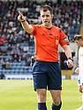 Referee Don Robertson.