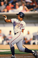 1996: Andruw Jones of the Durham Bulls during California / Carolina League All Star Game at The Epicenter in Rancho Cucamonga,CA.  Photo by Larry Goren/Four Seam Images