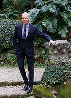 L'attore statunitense Michael Keaton posa durante un photocall per la presentazione del film 'Il caso Spotlight' a Roma, 23 gennaio 2016.<br /> U.S. actor Michael Keaton poses during a photocall for the presentation of the movie 'Stoplight' in Rome, 23 January 2016.<br /> UPDATE IMAGES PRESS/Riccardo De Luca