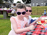 Hannah and Leah Power pictured at Oldbridge House open day. Photo:Colin Bell/pressphotos.ie