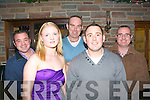 2079-2083.-----------.29 again.--------.Steven Galvin(front Rt)Camp,celebrated his 30th birthday last Saturday night in Hennessey's bar,Castle St,Tralee,with him were Deboragh Buckley,Declan Dore,Richard Kelly and John Reidy.