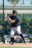 New York Yankees first baseman Chris Breen (67) during an Instructional League game against the Pittsburgh Pirates on September 18, 2014 at the Pirate City in Bradenton, Florida.  (Mike Janes/Four Seam Images)