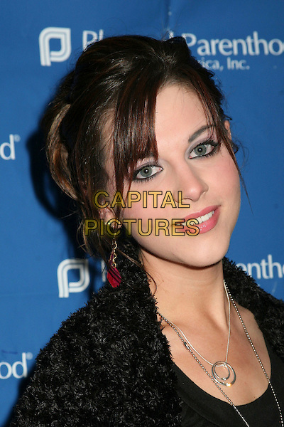 "ADRIANNE LEON.""Daytime for Planned Parenthood"" Pre-Emmy Celebration, the Women of Daytime Television's Benefit for the Planned Parenthood Federation of America, Glendale, California, USA..April 26th, 2006.Photo: Byron Purvis/AdMedia/Capital Pictures.Ref: BP/ADM.headshot portrait.www.capitalpictures.com.sales@capitalpictures.com.© Capital Pictures."