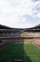 Estadio Azteca, Mexico DF, March, 2006. Fans during a fotball match America Vs. Pumas